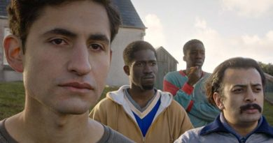 A scene from the film Limbo by Ben Sharrock
